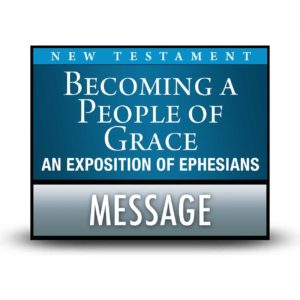 Becoming a People of Grace message