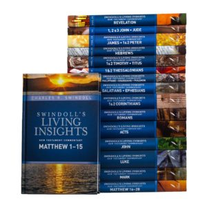 Swindoll Living Insights Commentary set