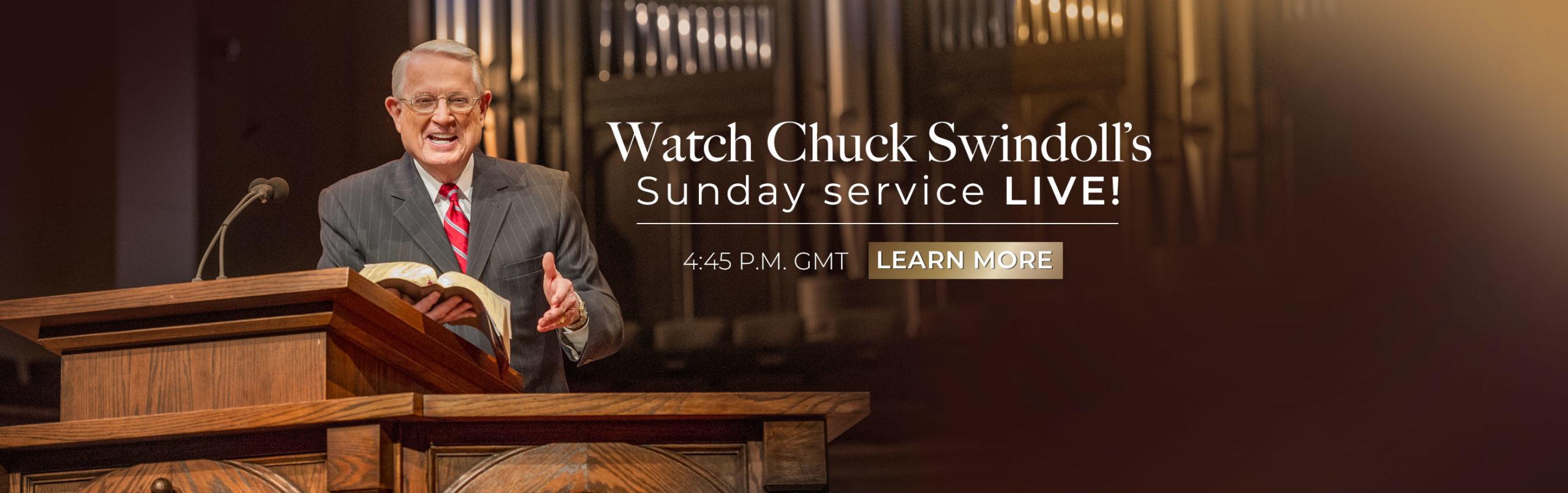 Sundays with Chuck