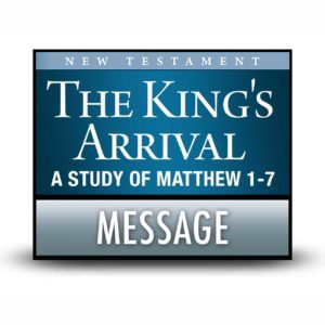 The King's Arrival message
