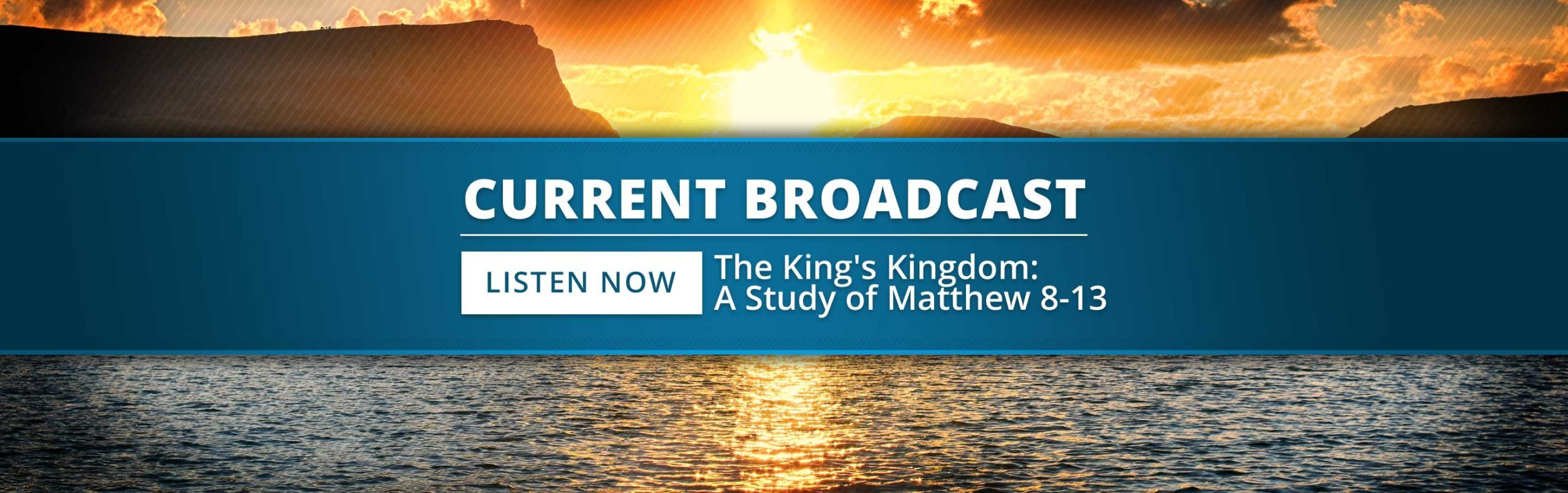 The King's Kingdom: A Study of Matthew 8–13