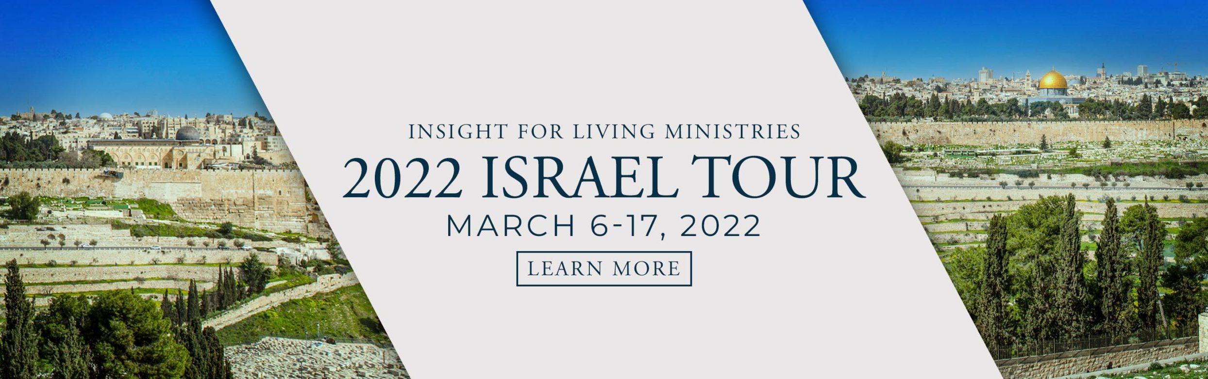 Israel 2022 Tour
